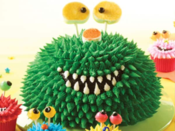 Monster Party Bowl Cake